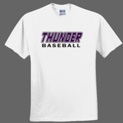 Thunder Baseball - Heavy Cotton 100% Cotton T Shirt