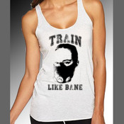 Train Like Bane Womens Tank - Womens Next Level Tri Blend Tank