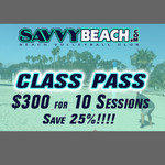 Class Pass 10 Sessions