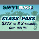 Class Pass 8 Sessions