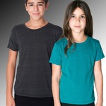 American Apparel Youth Tri blend